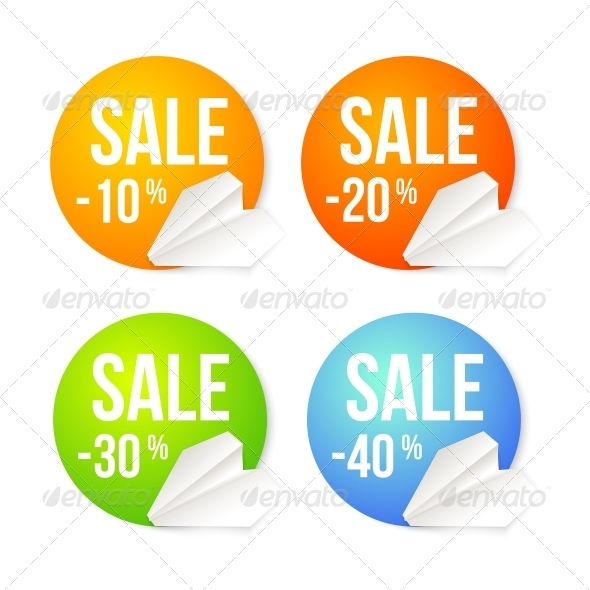 GraphicRiver Paper Plane Icon on a Badge Background 4819479