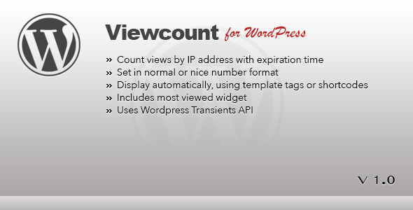CodeCanyon Viewcount for Wordpress 4819494