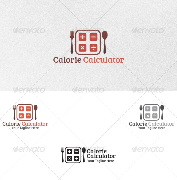 GraphicRiver Calorie Calculator Logo Template 4809026
