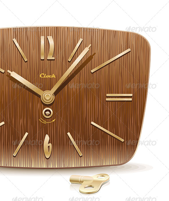 GraphicRiver Old Mechanical Clock 4819802