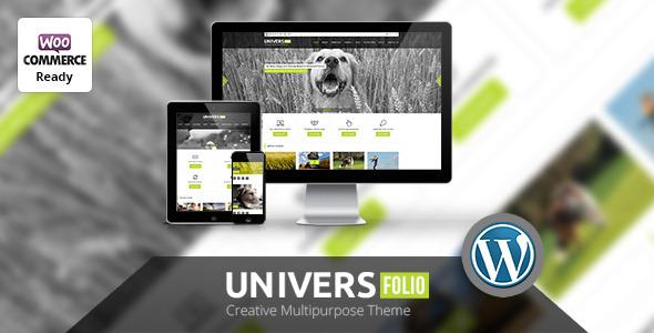 Universfolio – Multipurpose WordPress  Theme (Corporate) images