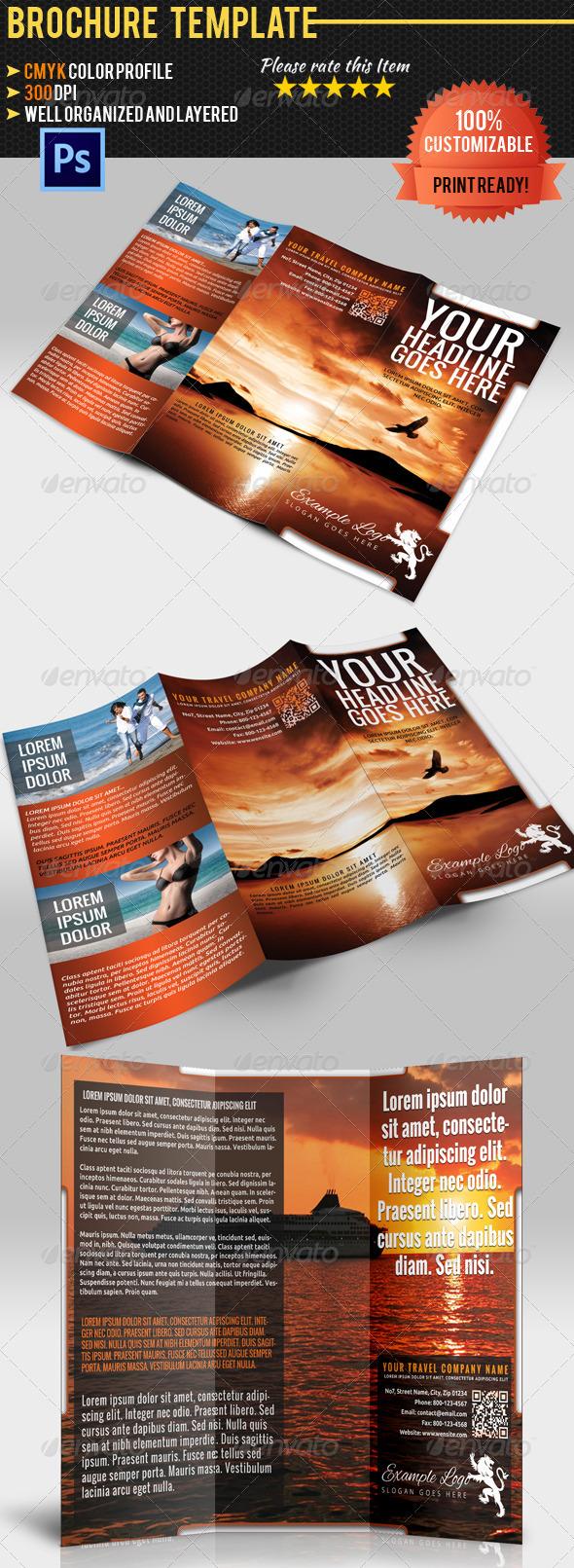 GraphicRiver Travel Company Brochure 4821573