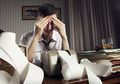 Exhausted businessman - PhotoDune Item for Sale