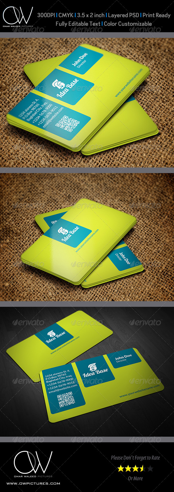 GraphicRiver Corporate Business Card Vol.25 4821984