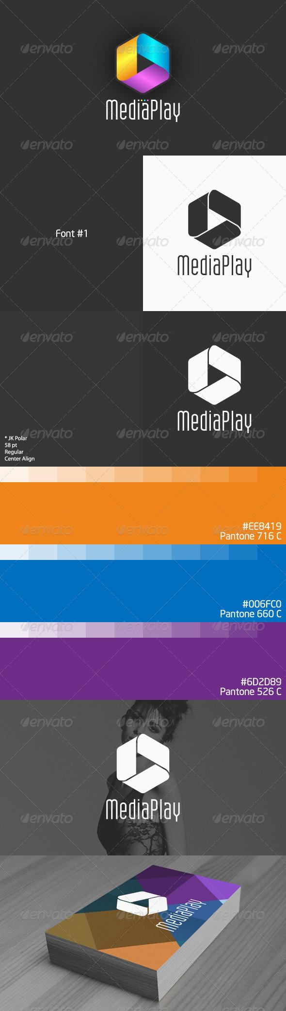 GraphicRiver Media Play Logo 4807778
