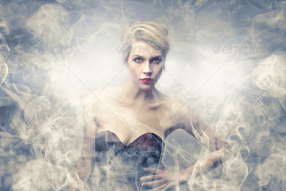 apparition - Stock Photo - Images