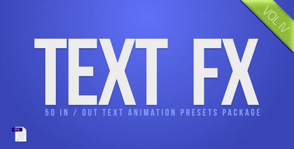 Text Fx Vol.4