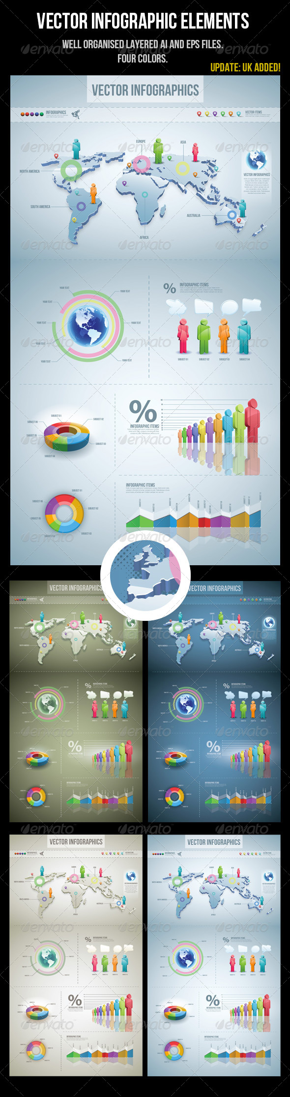 GraphicRiver Infographic Elements 2493691