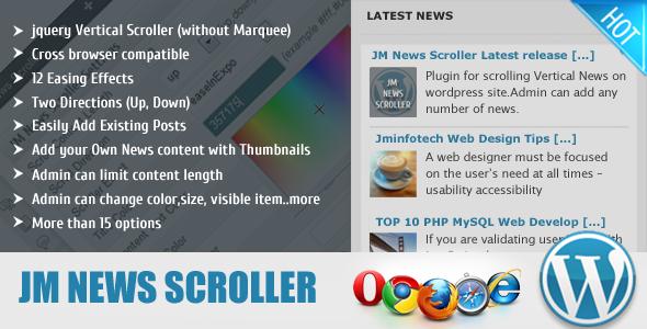CodeCanyon JM News Scroller 4809187