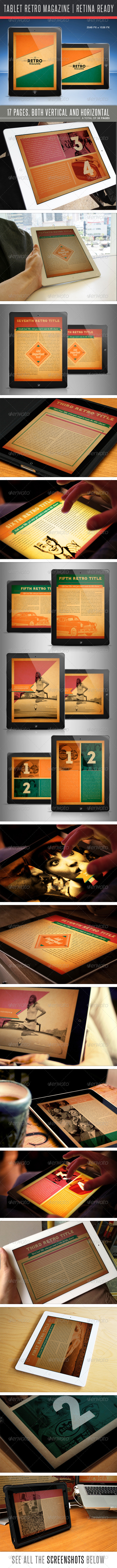 GraphicRiver The Retro MGZ For Tablet 4824759