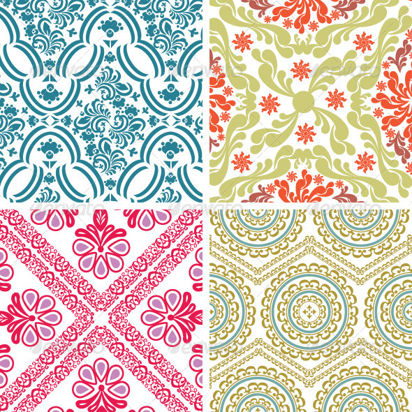 GraphicRiver Classic Vintage Patterns 4824960