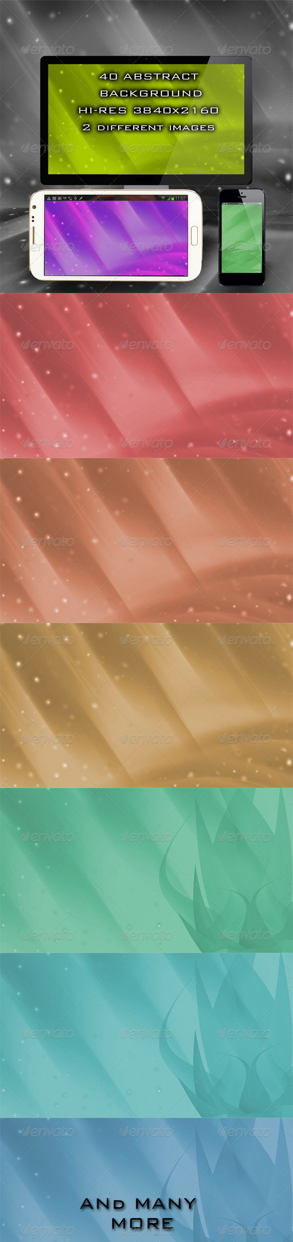 GraphicRiver 40 Abstract Backgrounds 4825307