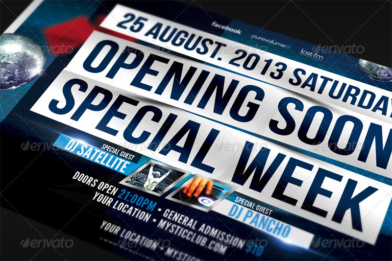 Grand Opening Flyer Template by ARphotography – Grand Opening Flyer Template