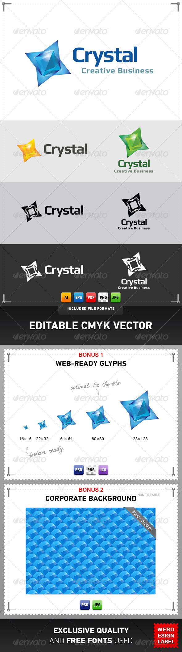 GraphicRiver Crystal Logo 4813929