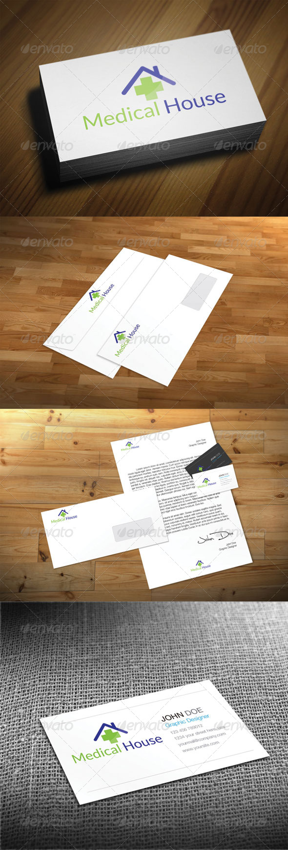 GraphicRiver Medical House 4825824