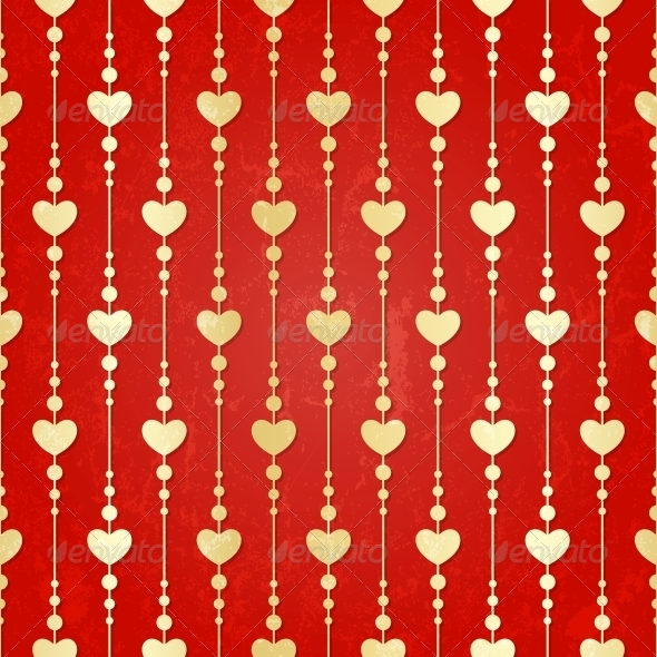 GraphicRiver Valentine Seamless Hearts Pattern 4826276
