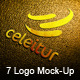 7 Styles Creative Logo Mock-Ups - GraphicRiver Item for Sale