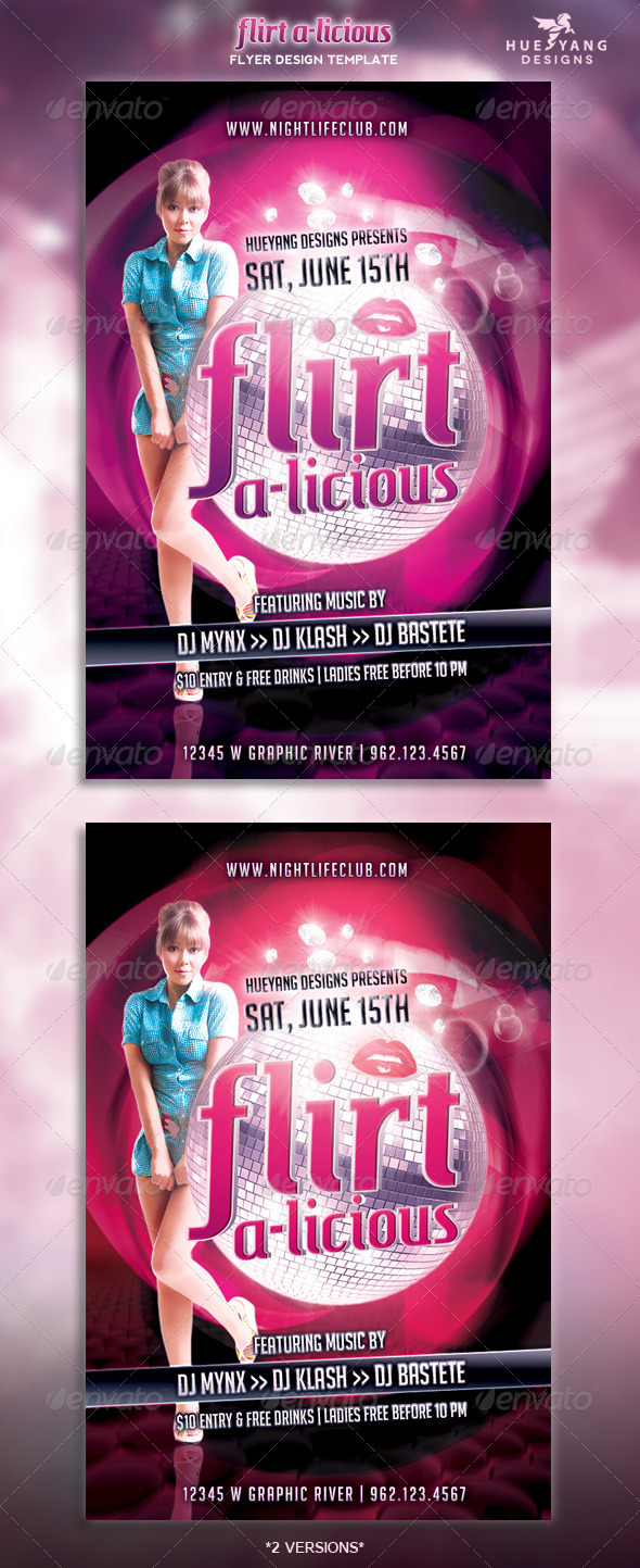 GraphicRiver Heavenly Nights Flyer 4750845