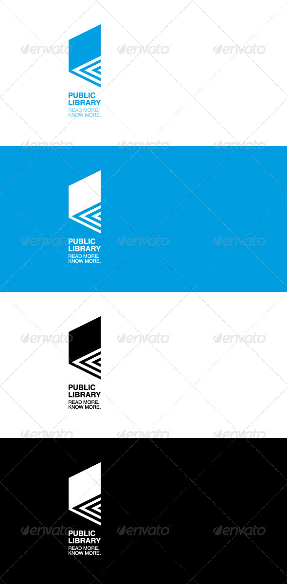 GraphicRiver Book Logo 4826597