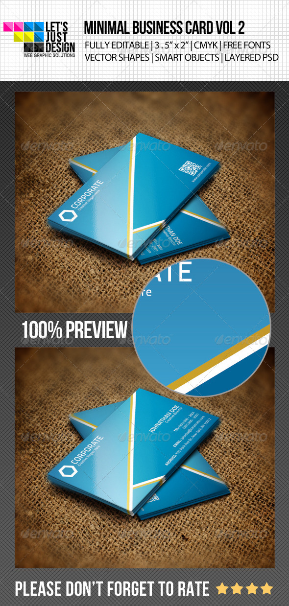 GraphicRiver Minimal Business Card Vol 2 4826819
