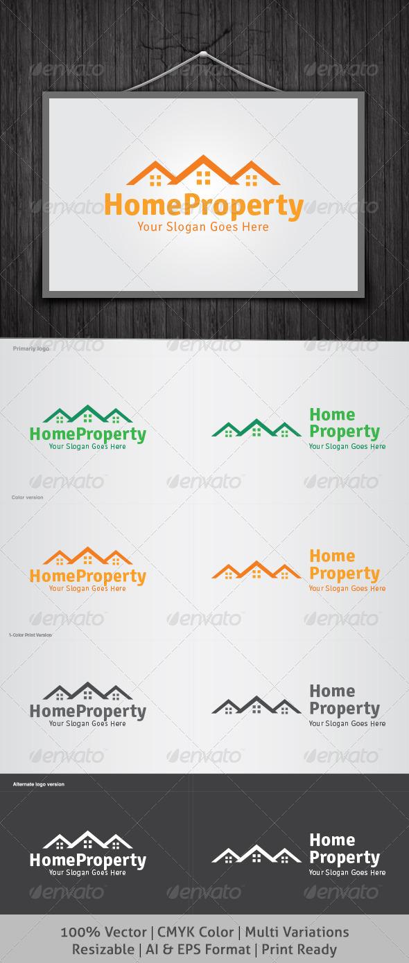 GraphicRiver Home Property Logo 4826852