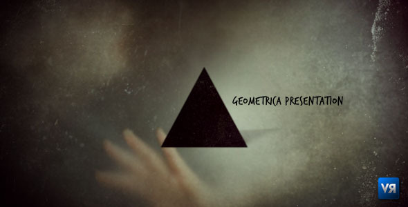 After Effects Project - VideoHive Geometrica presentation 500944