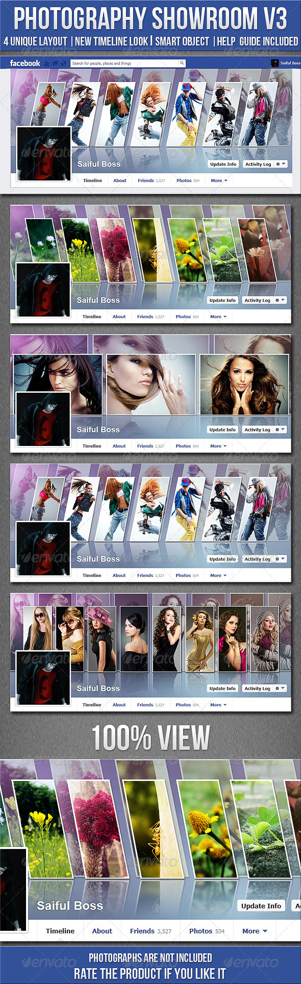 GraphicRiver Photography Showroom FB Timeline Cover V3 4827014