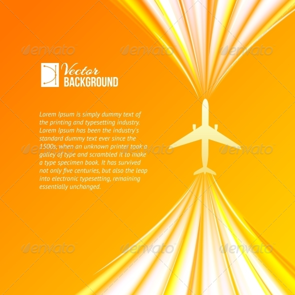 GraphicRiver Plane in the Air 4827065