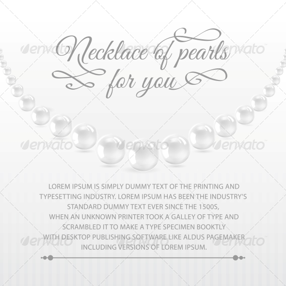 GraphicRiver Perls on a White Background 4827069