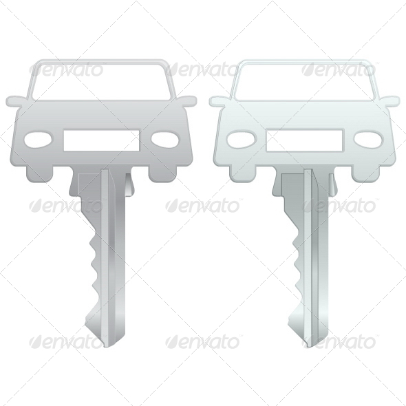 GraphicRiver Car Key 4827085