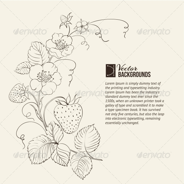 GraphicRiver Strawberries Isolated 4827088