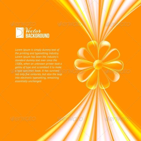 GraphicRiver Flower made of Glass 4827098