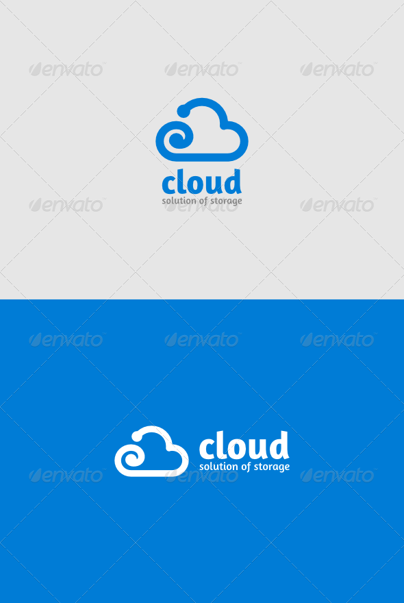 GraphicRiver Cloud Logo 4812127