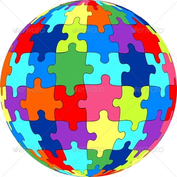 GraphicRiver Puzzle Ball 4827987