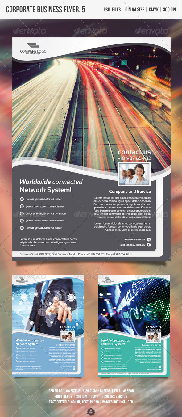 GraphicRiver Corporate Business Flyer Vol.5 4827988