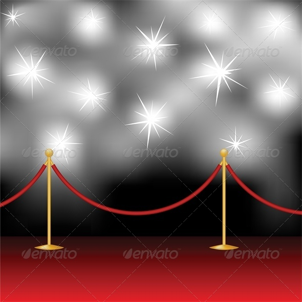 GraphicRiver Red Carpet and Paparazzi 4828025
