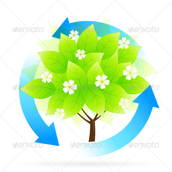 GraphicRiver Tree Icon 4828027