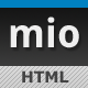 MIO HTML Template - ThemeForest Item for Sale