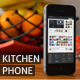 Phone in Kitchen Mock-Ups