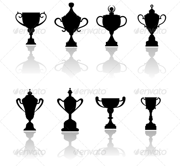 Sport Trophies, Awards and Cups - Sports/Activity Conceptual