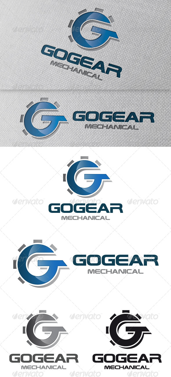 GraphicRiver Gear Letter G Logo Template 4829203