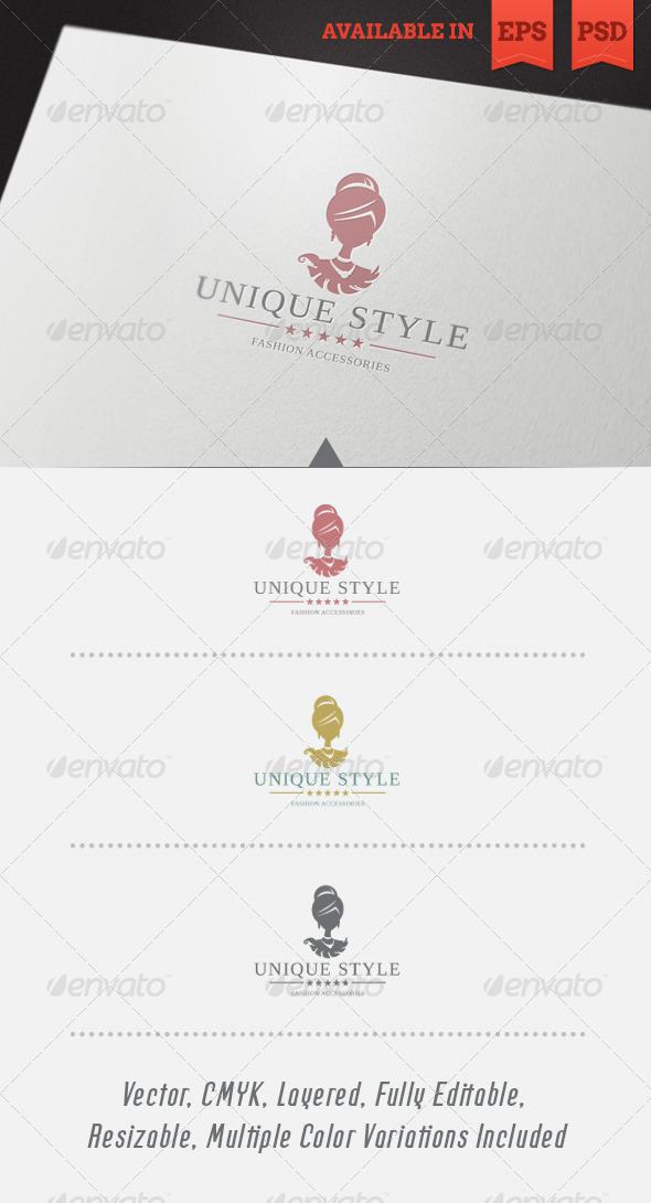 GraphicRiver Unique Style Logo Template 4829211