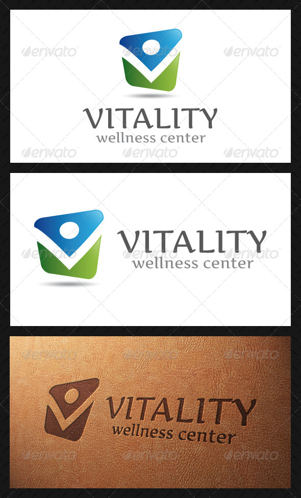 GraphicRiver Vitality Logo Template 4829429