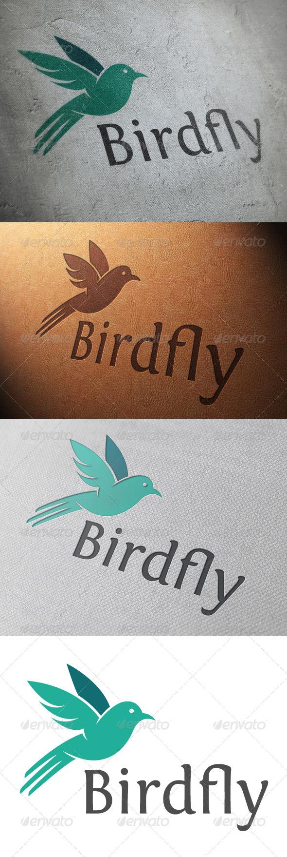 GraphicRiver Bird Logo Template 4829539