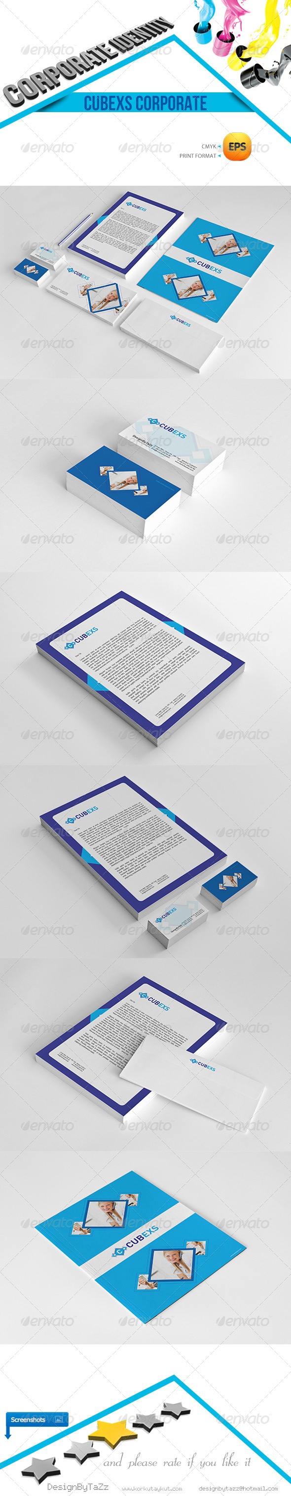 GraphicRiver Cubexs Corporate Identity Package 4729416