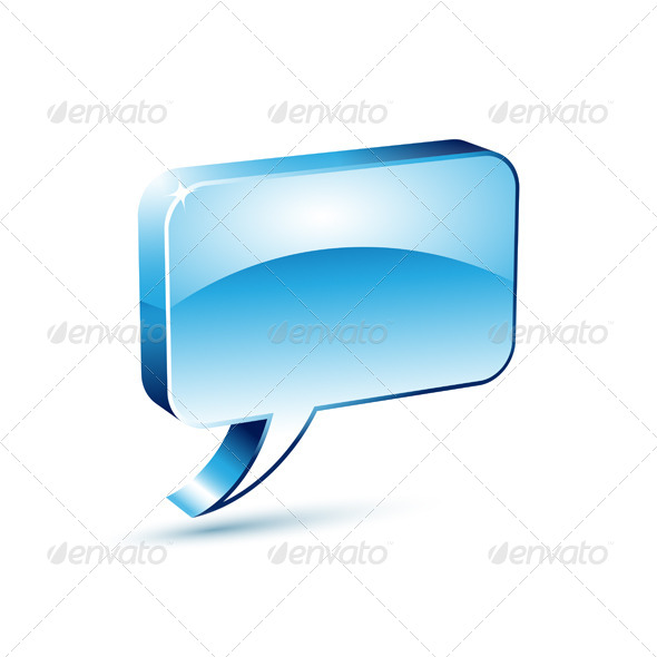 GraphicRiver Blue Dialog Box 4831479