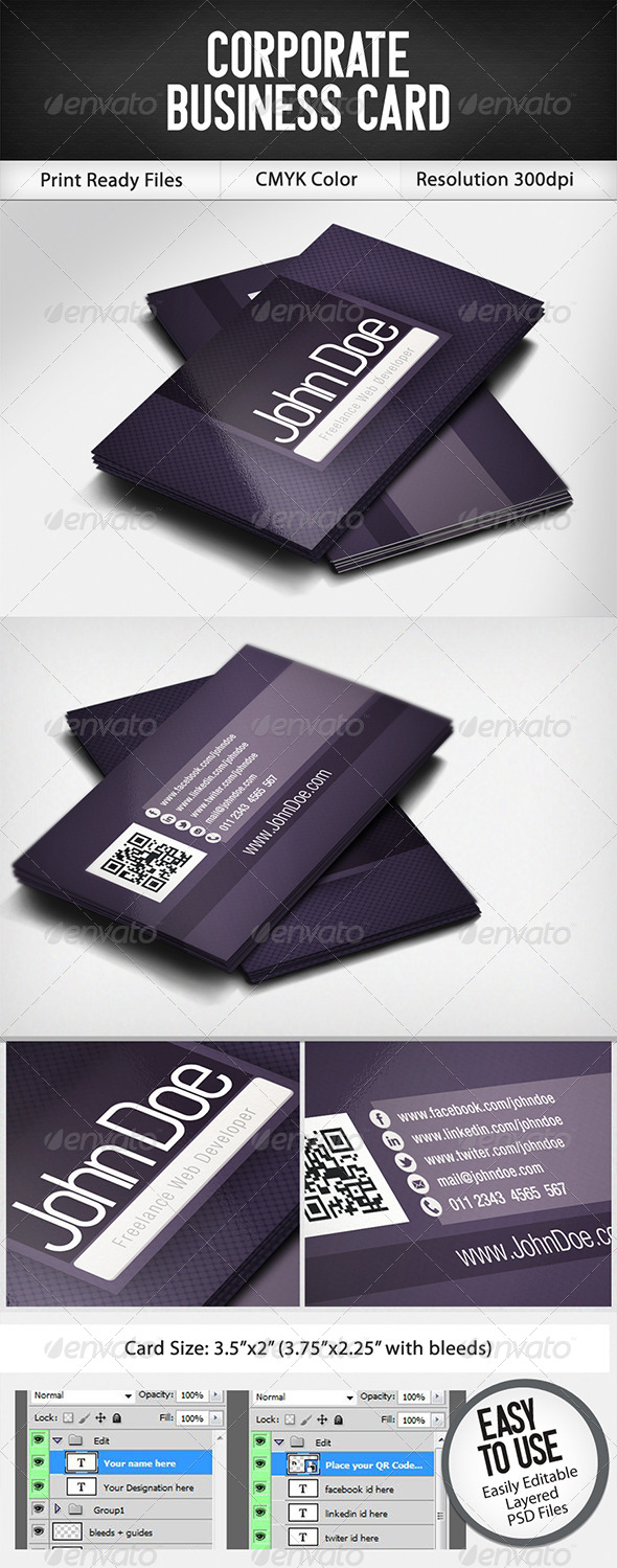 GraphicRiver Business Card 4831678
