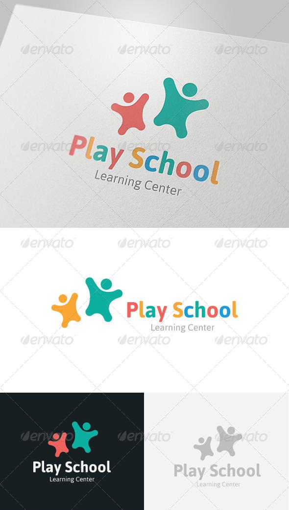 GraphicRiver Play School Logo 4832152