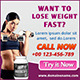 Web Marketing Lose Weight Web Banners - GraphicRiver Item for Sale