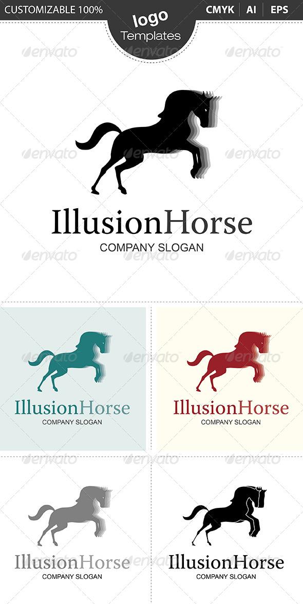 GraphicRiver IllusionHorse Logo 4822358